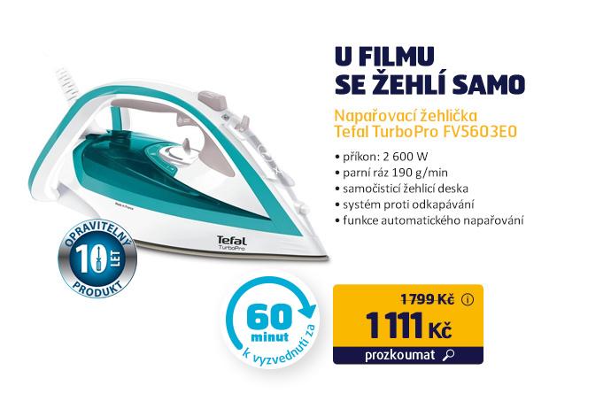 Napařovací žehlička Tefal TurboPro FV5603E0