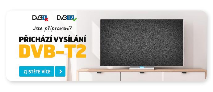 PŘICHÁZÍ VYSÍLÁNÍ DVB-T2