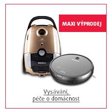 MAXI Výprodej: Vysávání, péče o domácnost