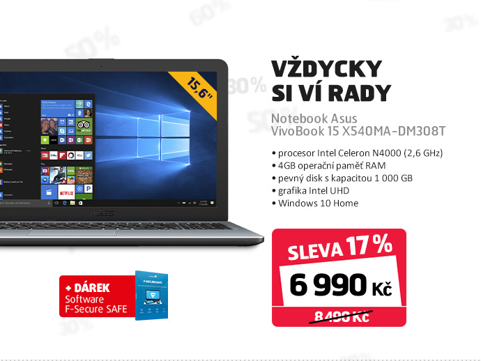 Notebook Asus VivoBook 15 X540MA-DM308T