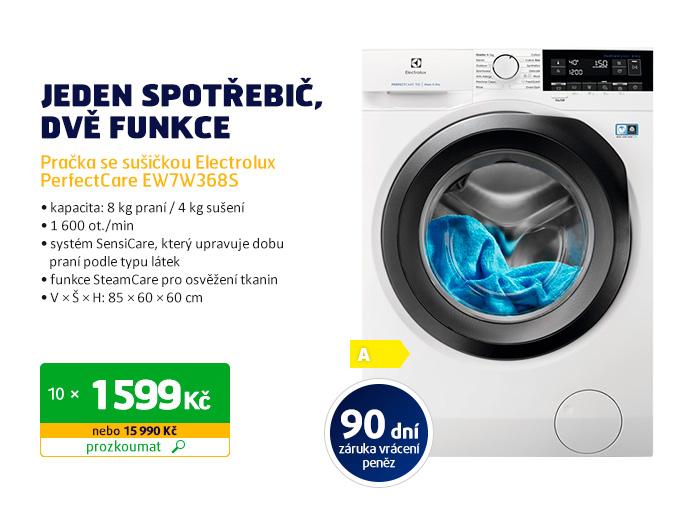 Pračka se sušičkou Electrolux PerfectCare EW7W368S