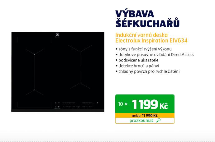 Indukční varná deska Electrolux Inspiration EIV634