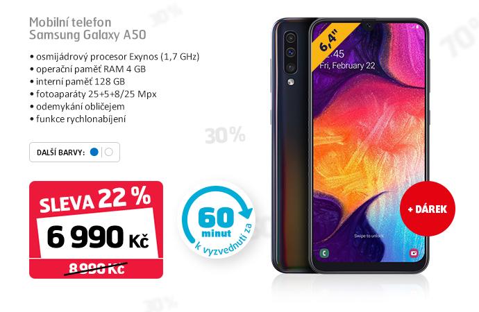 Mobilní telefon Samsung Galaxy A50