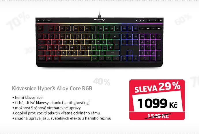 Klávesnice HyperX Alloy Core RGB