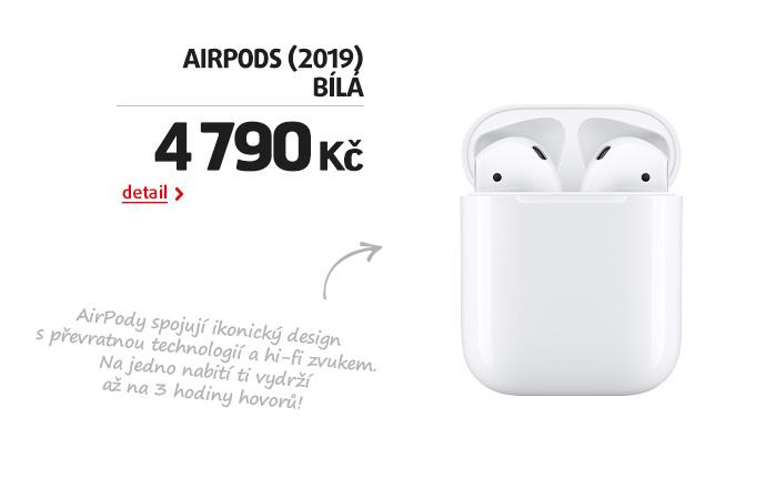 AirPods (2019) bílá