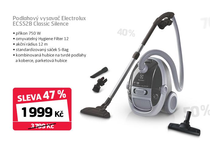 Podlahový vysavač Electrolux ECS52B Classic Silence