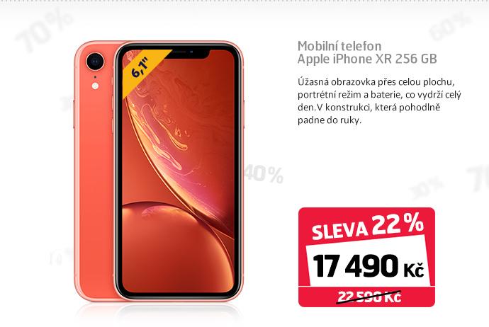 Mobilní telefon Apple iPhone XR 256 GB