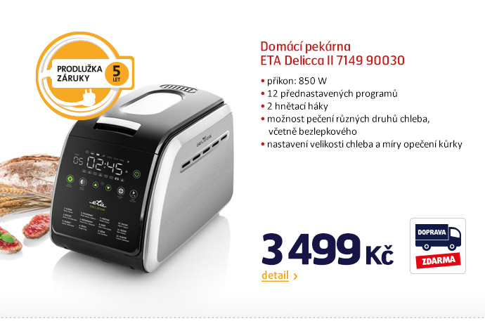 Domácí pekárna ETA Delicca II 7149 90030