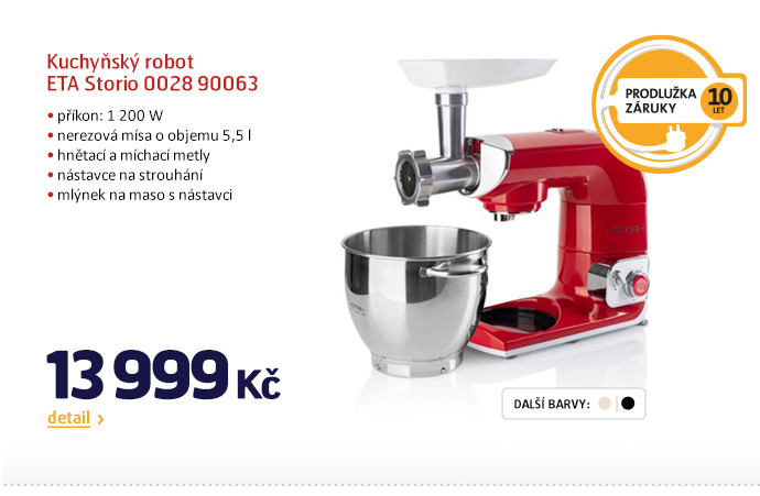 Kuchyňský robot ETA Storio 0028 900