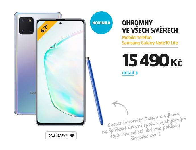 Mobilní telefon Samsung Galaxy Note10 Lite