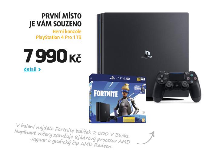Herní konzole PlayStation 4 Pro 1 TB