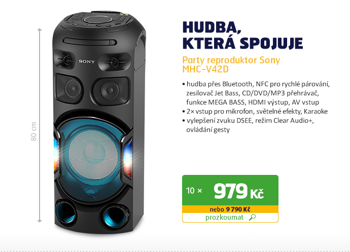 Party reproduktor Sony MHC-V42D