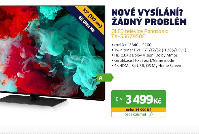OLED televize Panasonic TX-55GZ950E