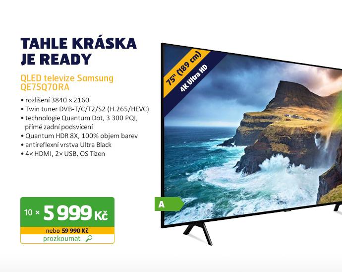 QLED televize Samsung QE75Q70RA