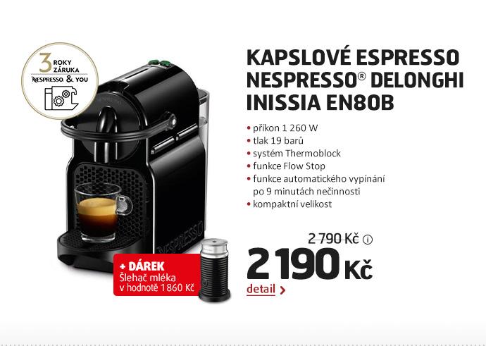 Kapslové espresso Nespresso® DeLonghi Inissia EN80B