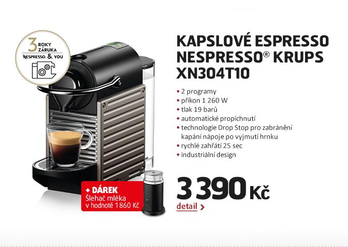 Kapslové espresso Nespresso® Krups  XN304T10