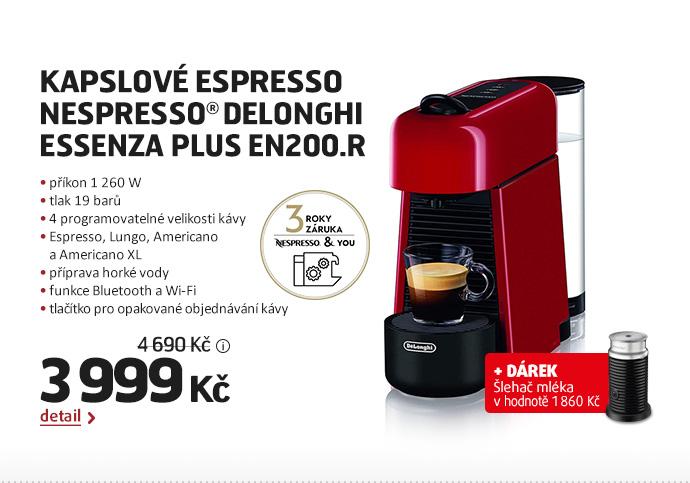 Kapslové espresso Nespresso® DeLonghi  Essenza Plus EN200.R