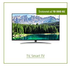 Šrotovné až 10 000 Kč na vybrané TV