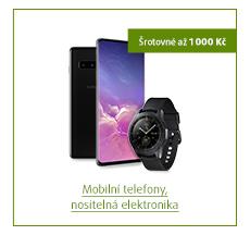 Šrotovné až 1 000 Kč na vybrané mobilní telefony a nositelnou elektroniku