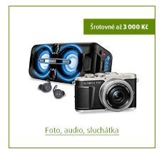 Šrotovné až 3 000 Kč na vybrané produkty foto, audio, sluchátka