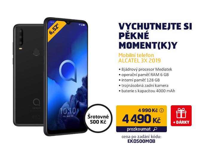 Mobilní telefon ALCATEL 3X 2019