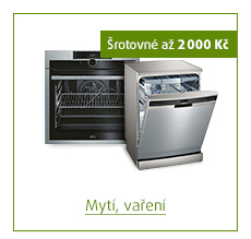 Šrotovné až 2 000 Kč na vybrané produkty mytí a vaření