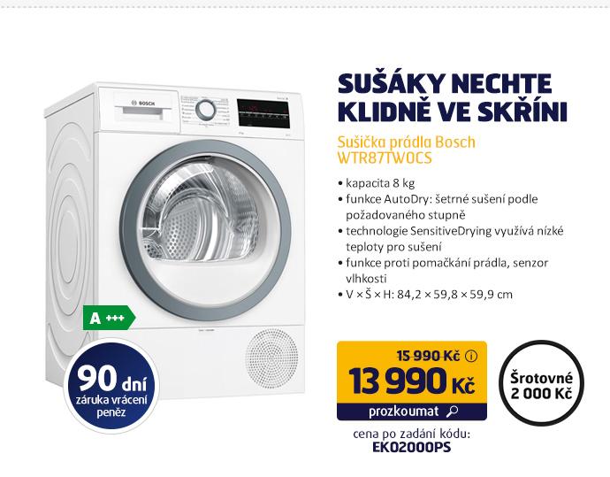 Sušička prádla Bosch WTR87TW0CS