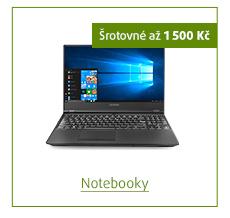 Šrotovné až 1 500 Kč na vybrané notebooky