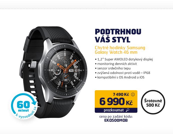 Chytré hodinky Samsung Galaxy Watch 46 mm