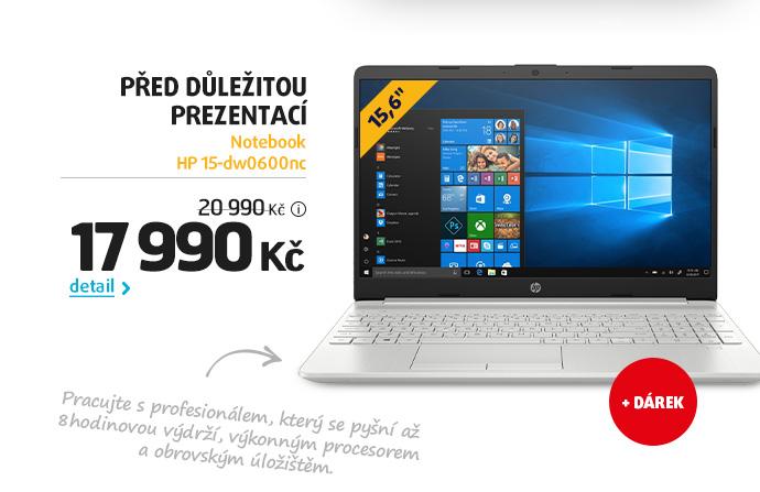 Notebook HP 15-dw0600nc