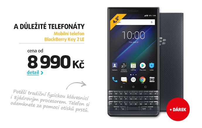 Mobilní telefon BlackBerry Key 2 LE