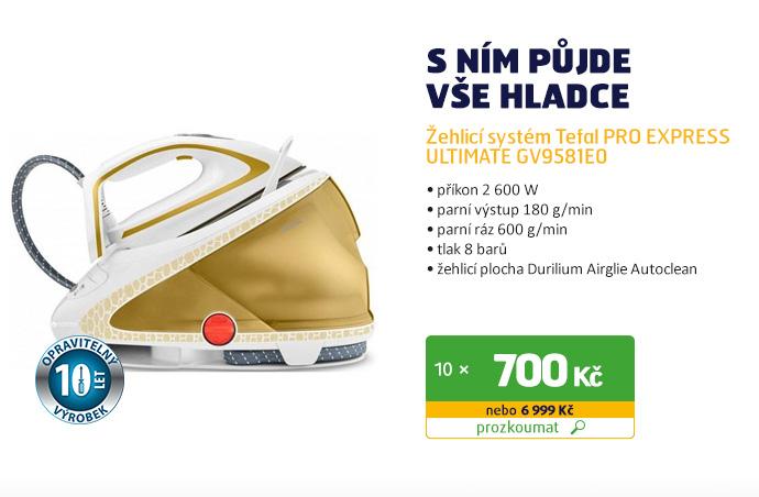 Žehlicí systém Tefal PRO EXPRESS ULTIMATE GV9581E0