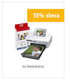 15% sleva na fototiskárny