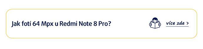 Xiaomi Redmi Note 8 Pro: Jak fotí 64 Mpx?