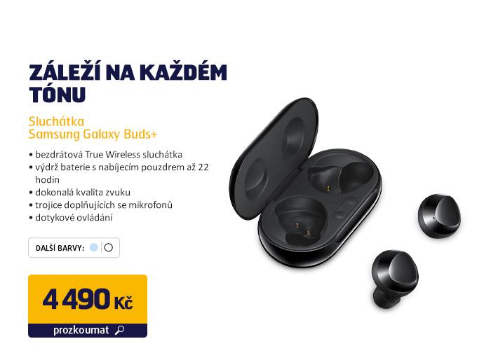 Sluchátka Samsung Galaxy Buds+