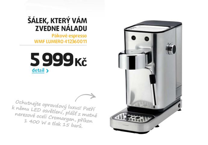 Pákové espresso WMF LUMERO 412360011