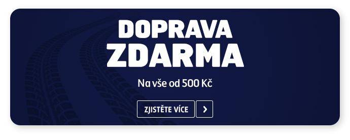 DOPRAVA ZDARMA NAD 500 Kč