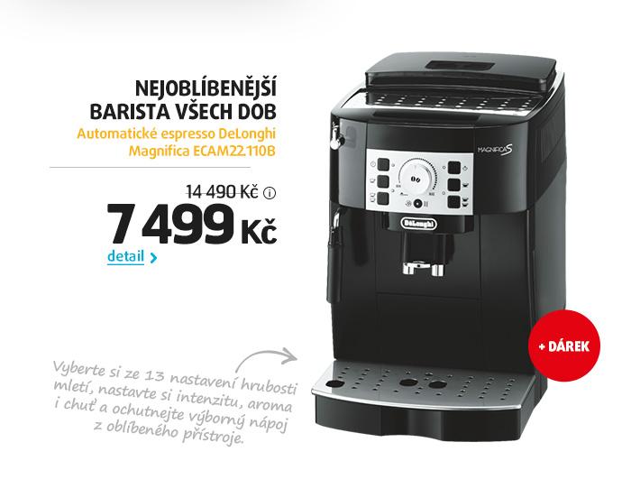 Automatické espresso DeLonghi Magnifica ECAM22.110B