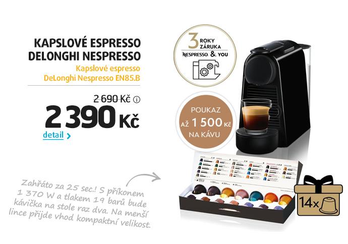 Kapslové espresso DeLonghi Nespresso EN85.B