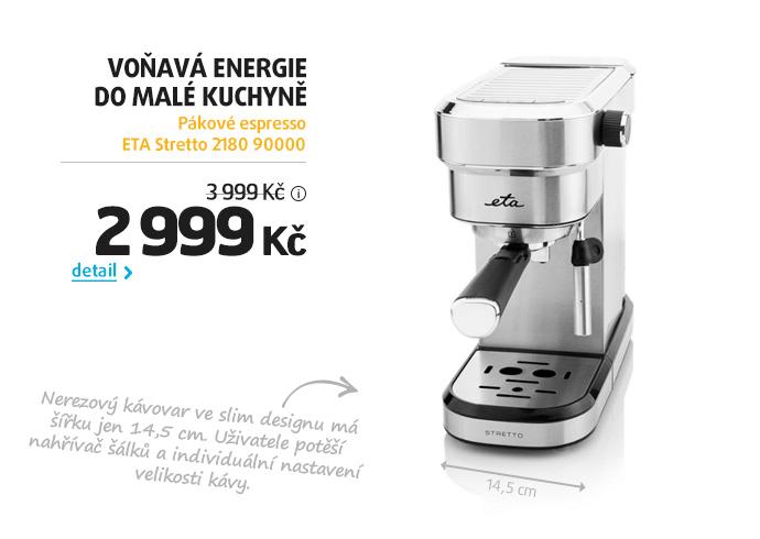 Pákové espresso ETA Stretto 2180 90000