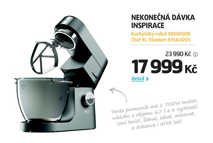 Kuchyňský robot KENWOOD Chef XL Titanium KVL8400S