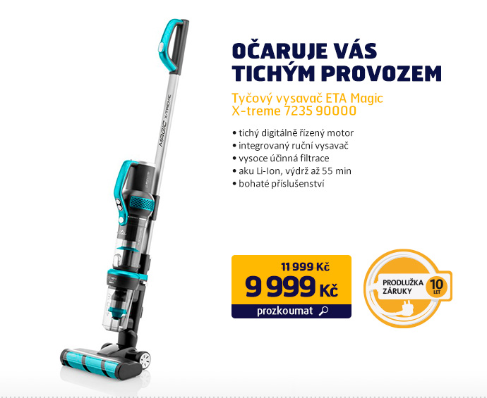 Tyčový vysavač ETA Magic X-treme 7235 90000