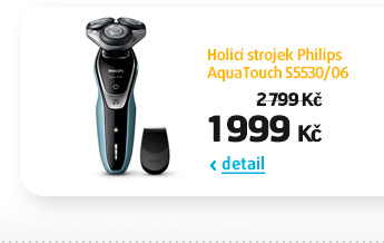 Holicí strojek Philips AquaTouch S5530/06