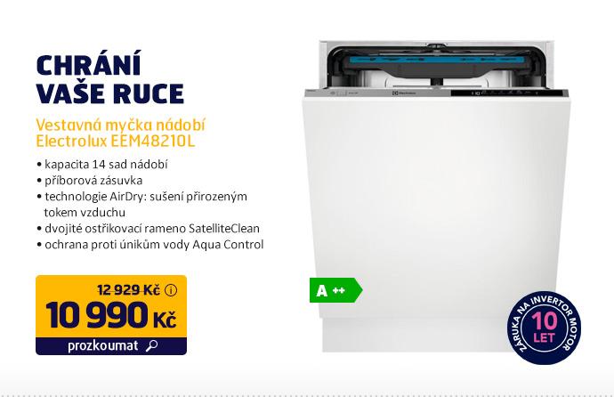 Vestavná myčka nádobí Electrolux EEM48210L