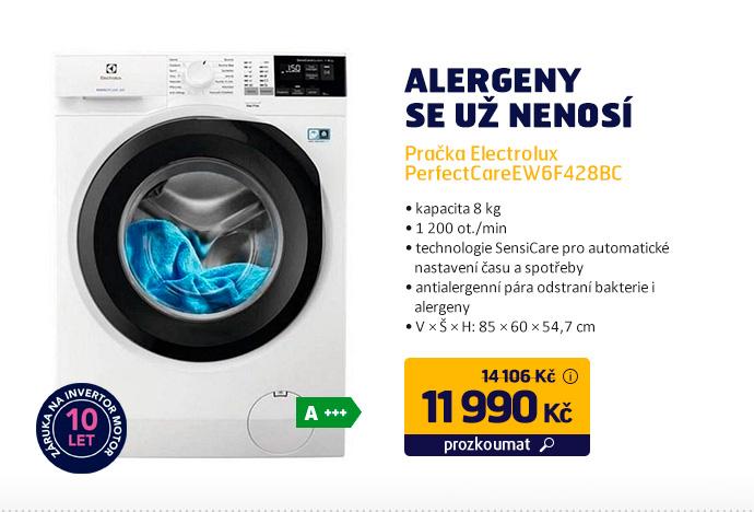 Pračka Electrolux PerfectCareEW6F428BC