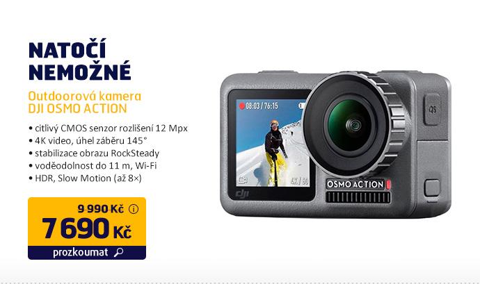 Outdoorová kamera DJI OSMO ACTION