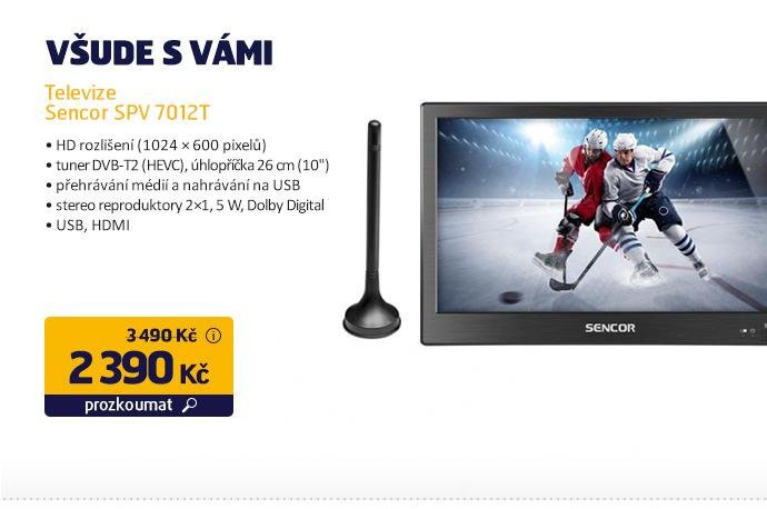 Televize Sencor SPV 7012T