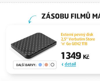 "Externí pevný disk 2,5"" Verbatim Store 'n' Go GEN2 1TB"