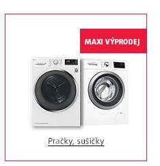 MAXI Výprodej: Pračky, sušičky