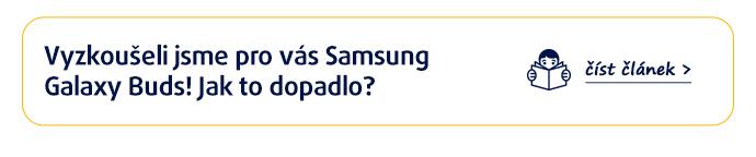 Vyzkoušeli jsme Samsung Galaxy Buds za vás